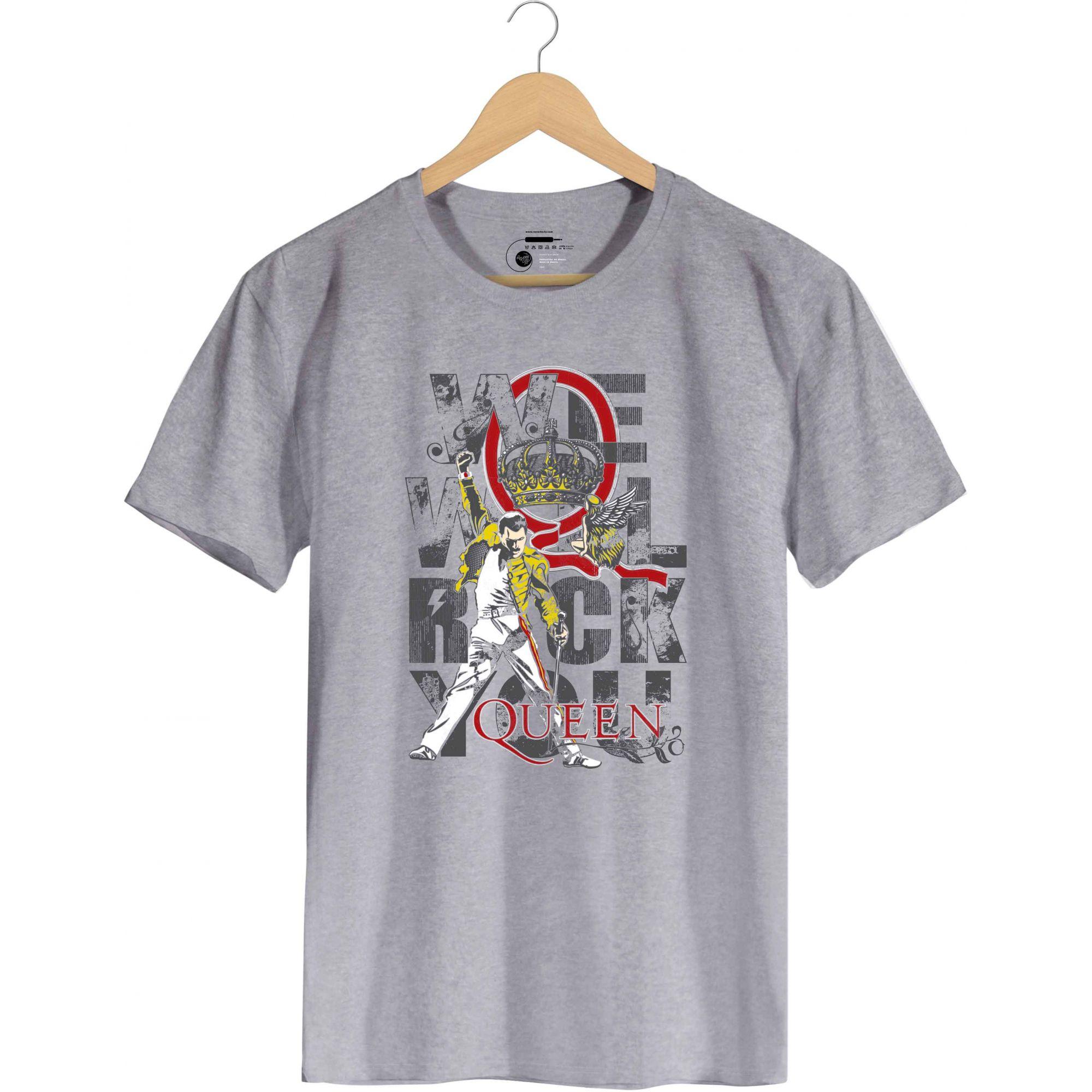Camiseta We Will Rock You - Queen -  Masculino