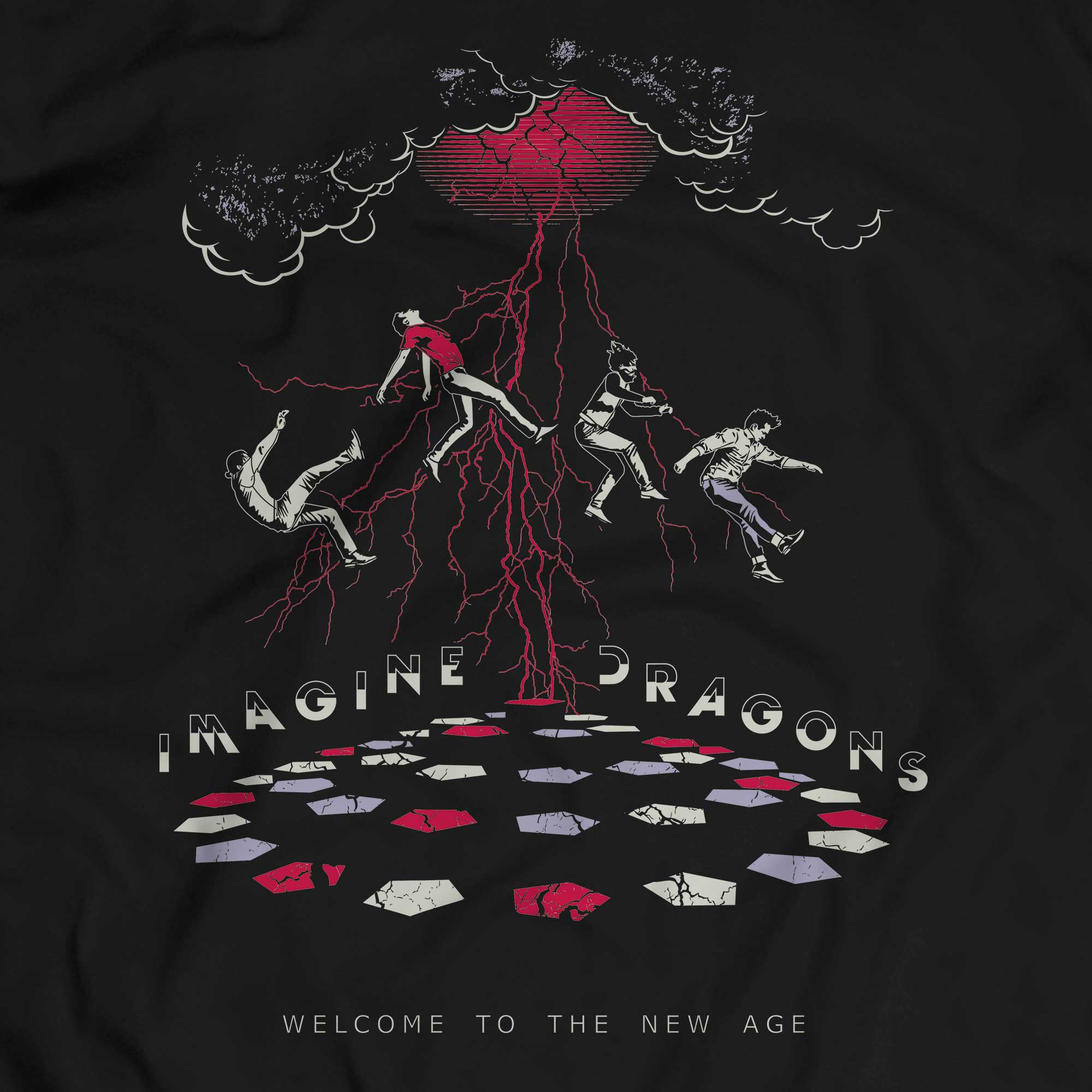 Camiseta Welcome To The New Age - Imagine Dragons - Masculino