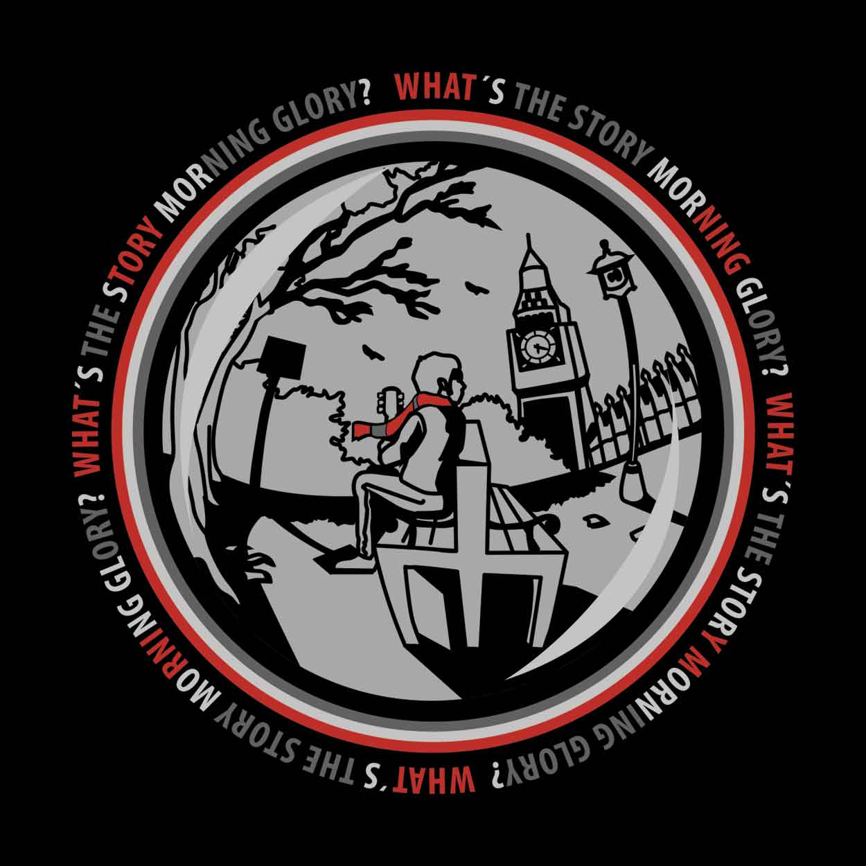 Camiseta -  What's The Story Morning Glory?- Oasis - Feminino