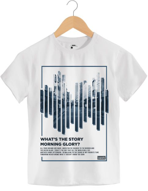 Camiseta (Whats The Story) Morning Glory ? - Oasis - Infantil