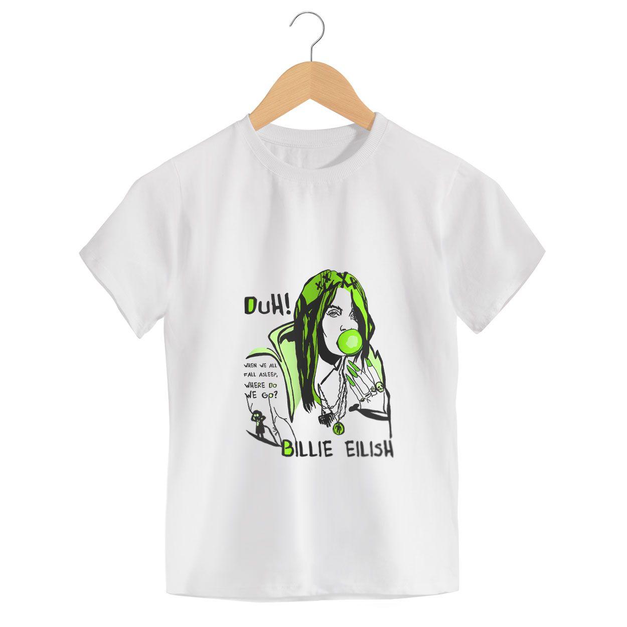 Camiseta - When We All Fall Asleep, Where Do We Go? - Billie Eilish - Infantil