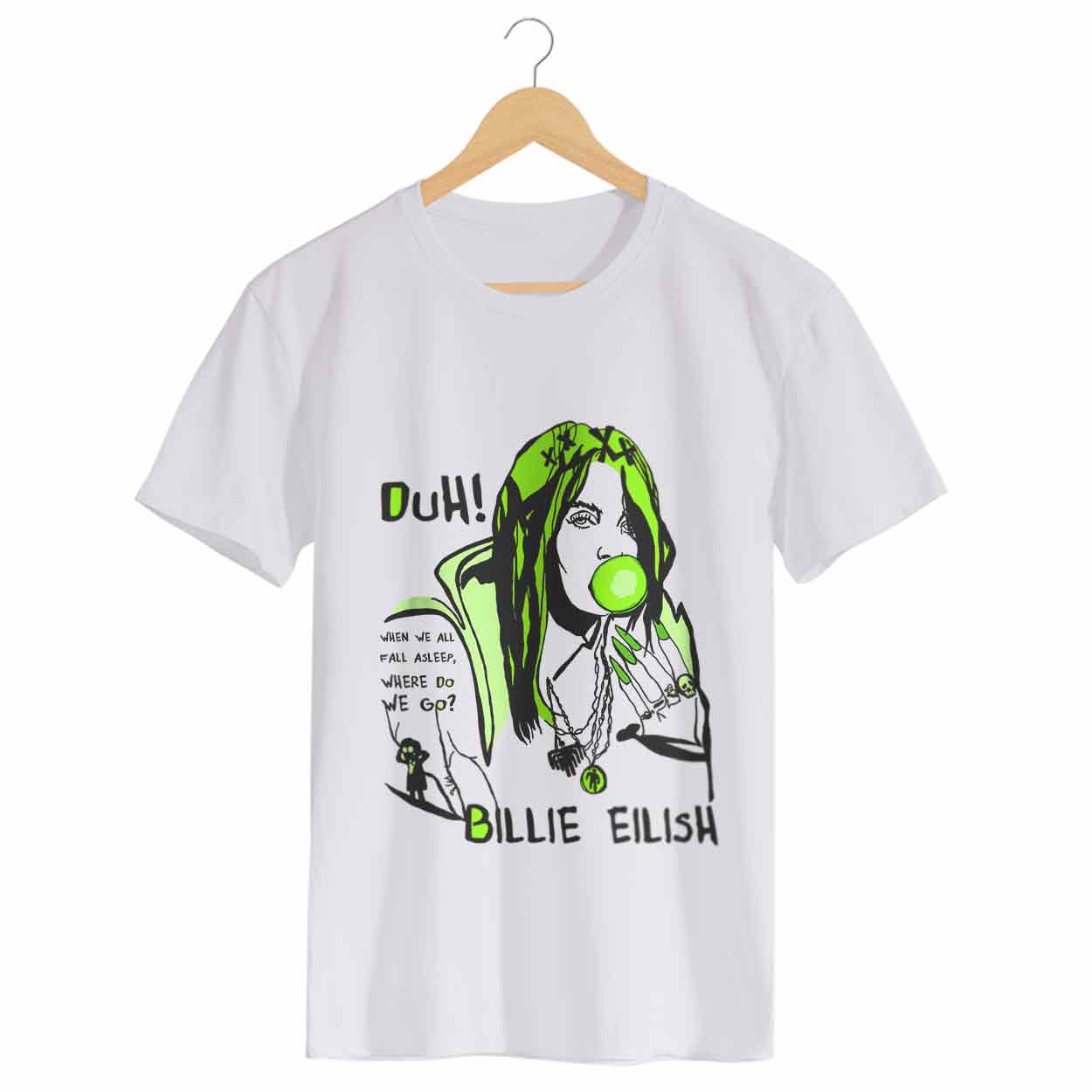 Camiseta When We All Fall Asleep, Where Do We Go? - Billie Eilish - Masculino