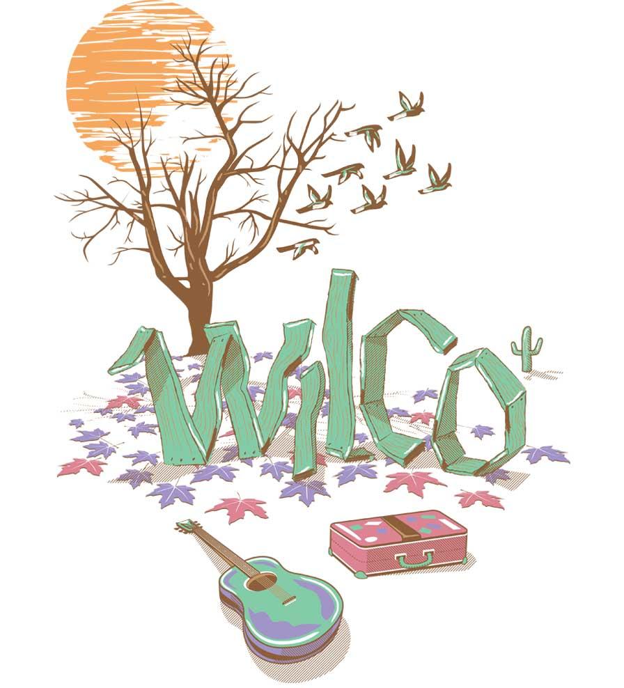 Camiseta Wilco - Infantil