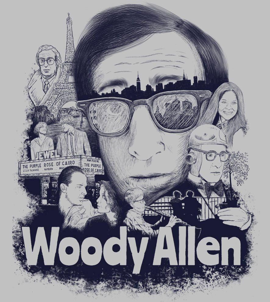 Camiseta - Woody Allen - Masculino