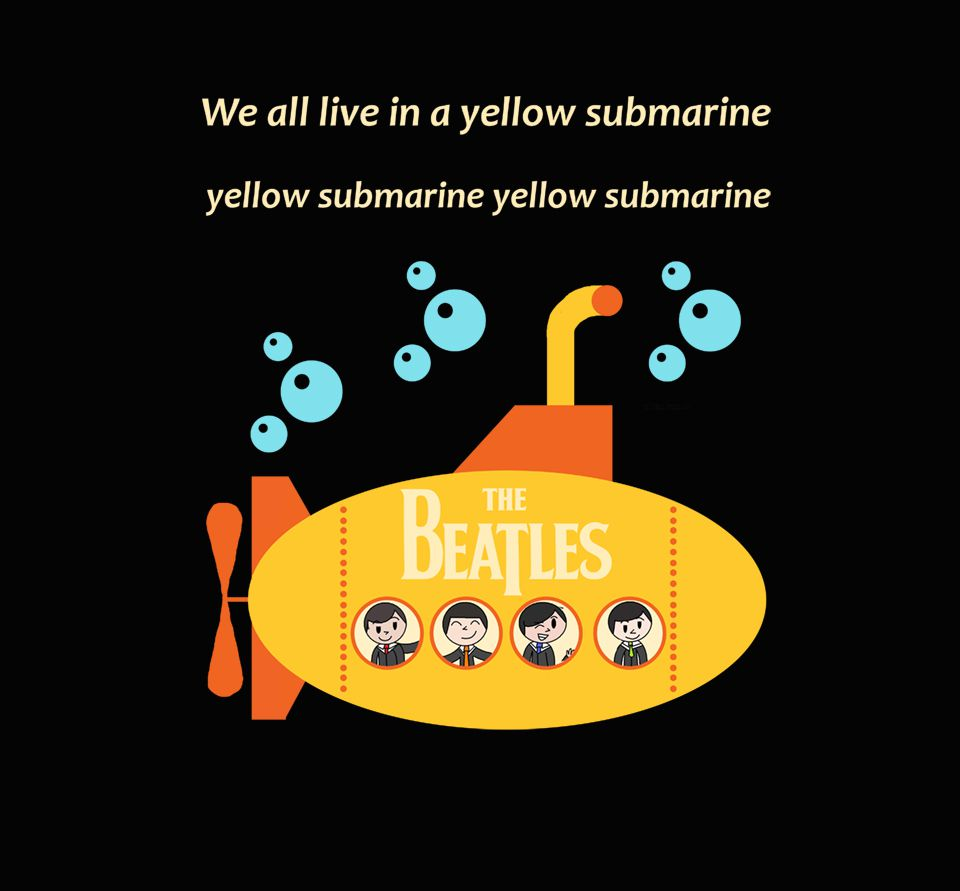 Camiseta - Yellow Submarine - The Beatles - Feminino