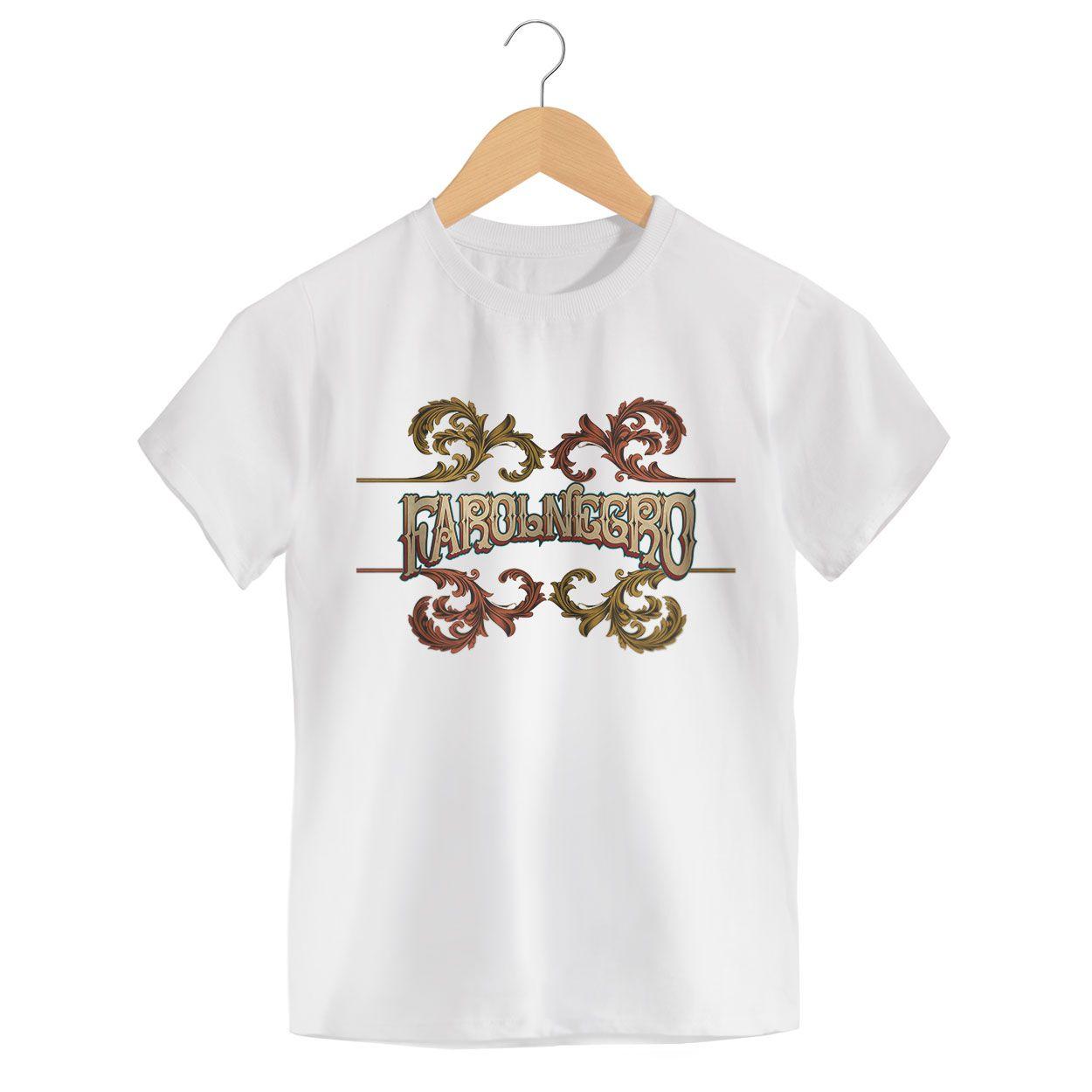 Camiseta - Yin Yang - Farol Negro - Infantil