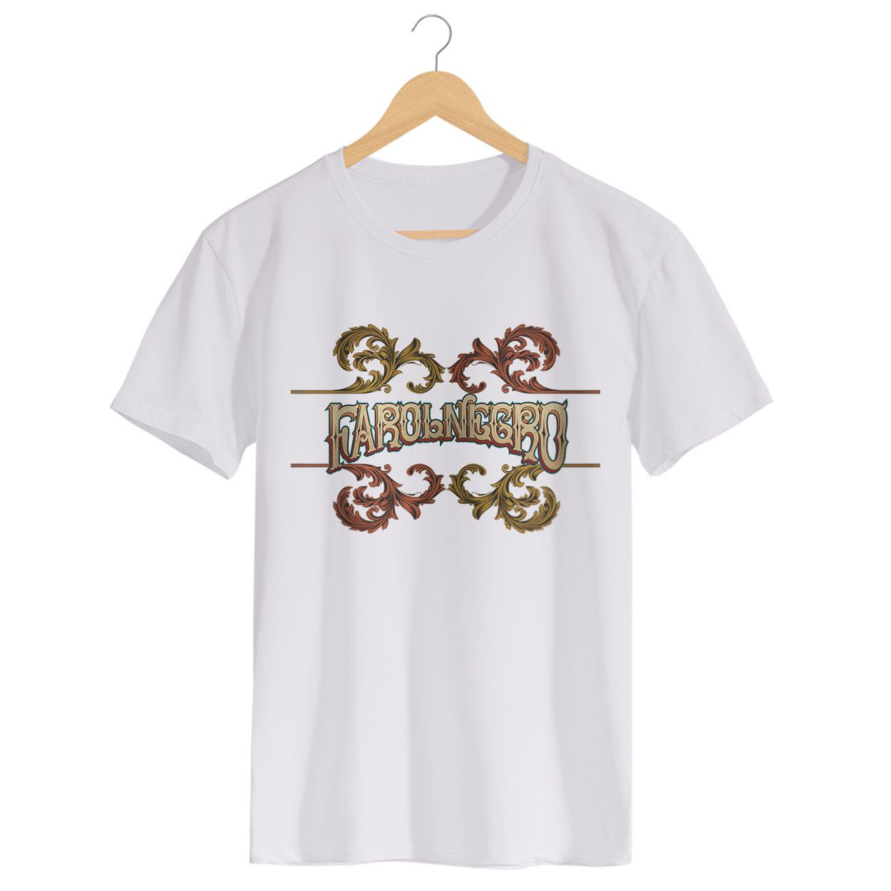 Camiseta - Yin Yang - Farol Negro - Masculino