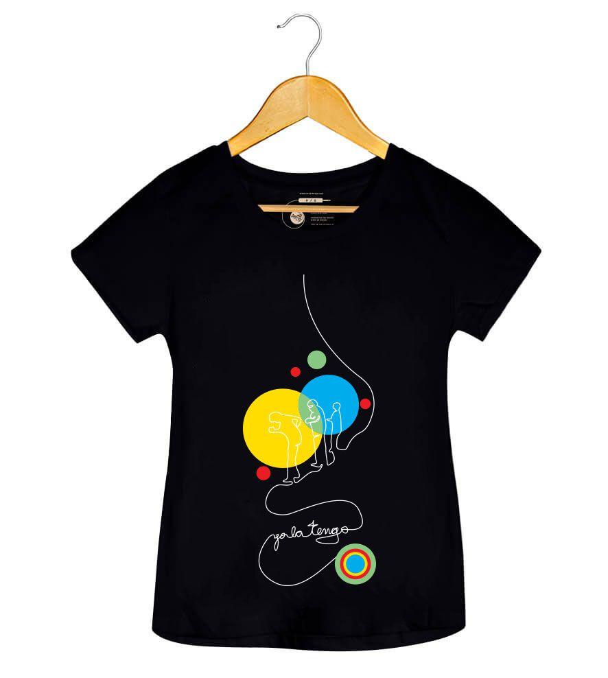 Camiseta - Yo La Tengo - Feminino