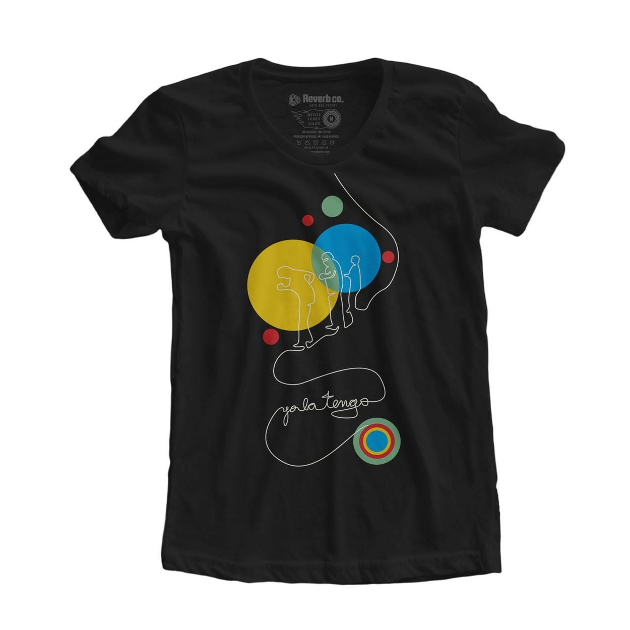 Camiseta Yo La Tengo - Feminino