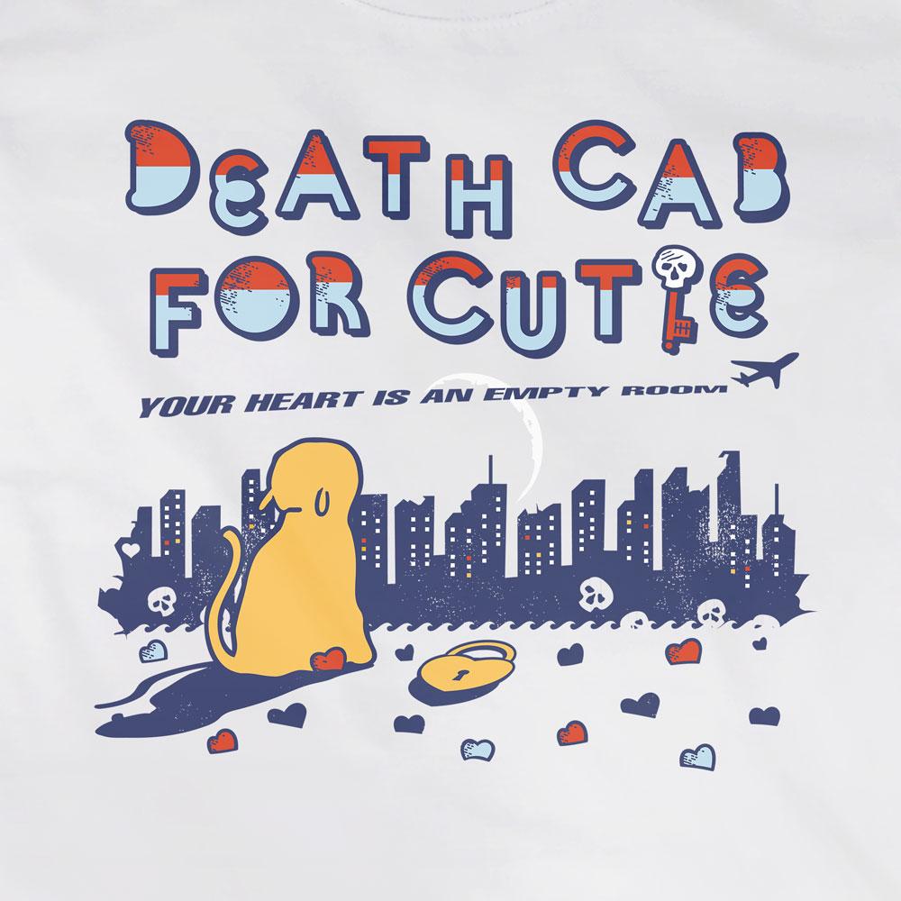Camiseta Your Heart Is An Empty Room - Death Cab - Feminino