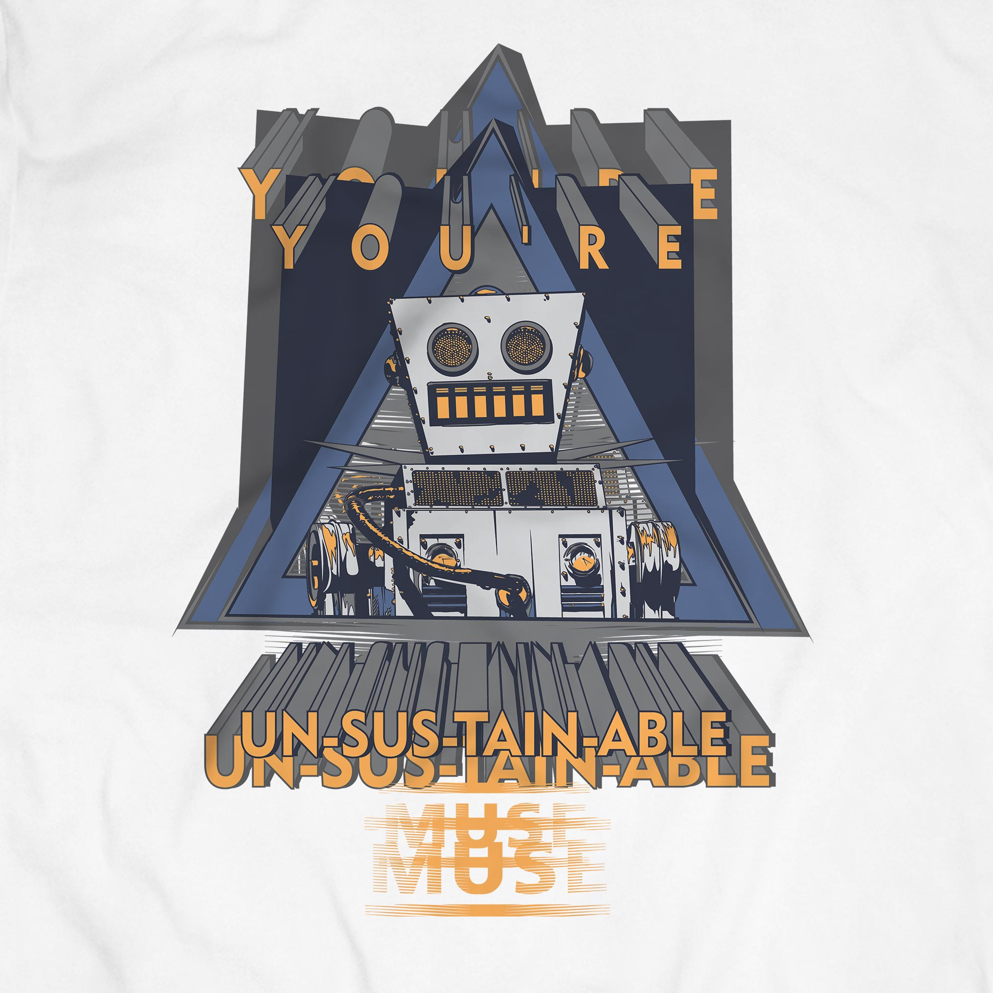 Camiseta Youre Un-sus-tain-able! - Muse - Masculino