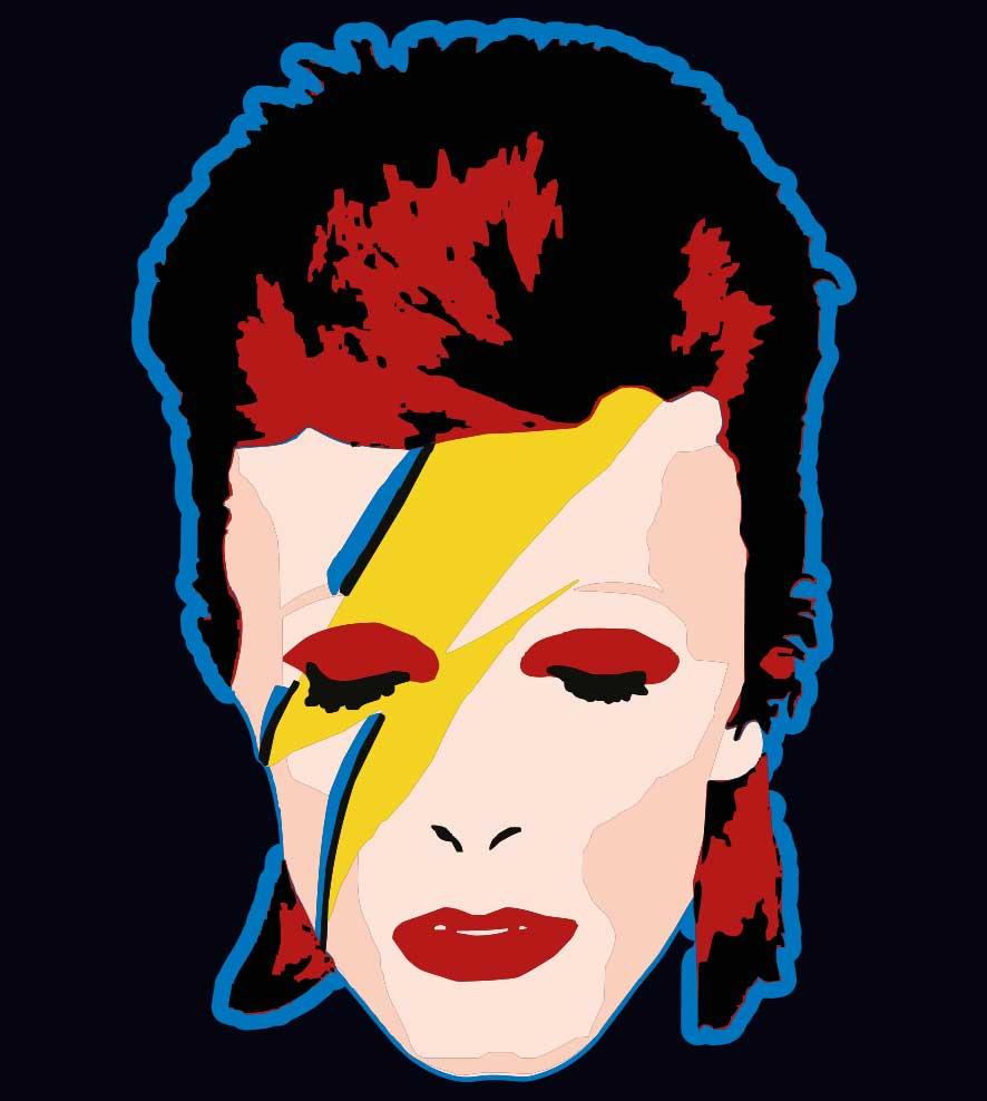 Camiseta - Ziggy Stardust - David Bowie - Infantil