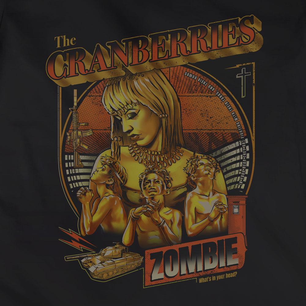Camiseta Zombie - The Cranberries - Feminino
