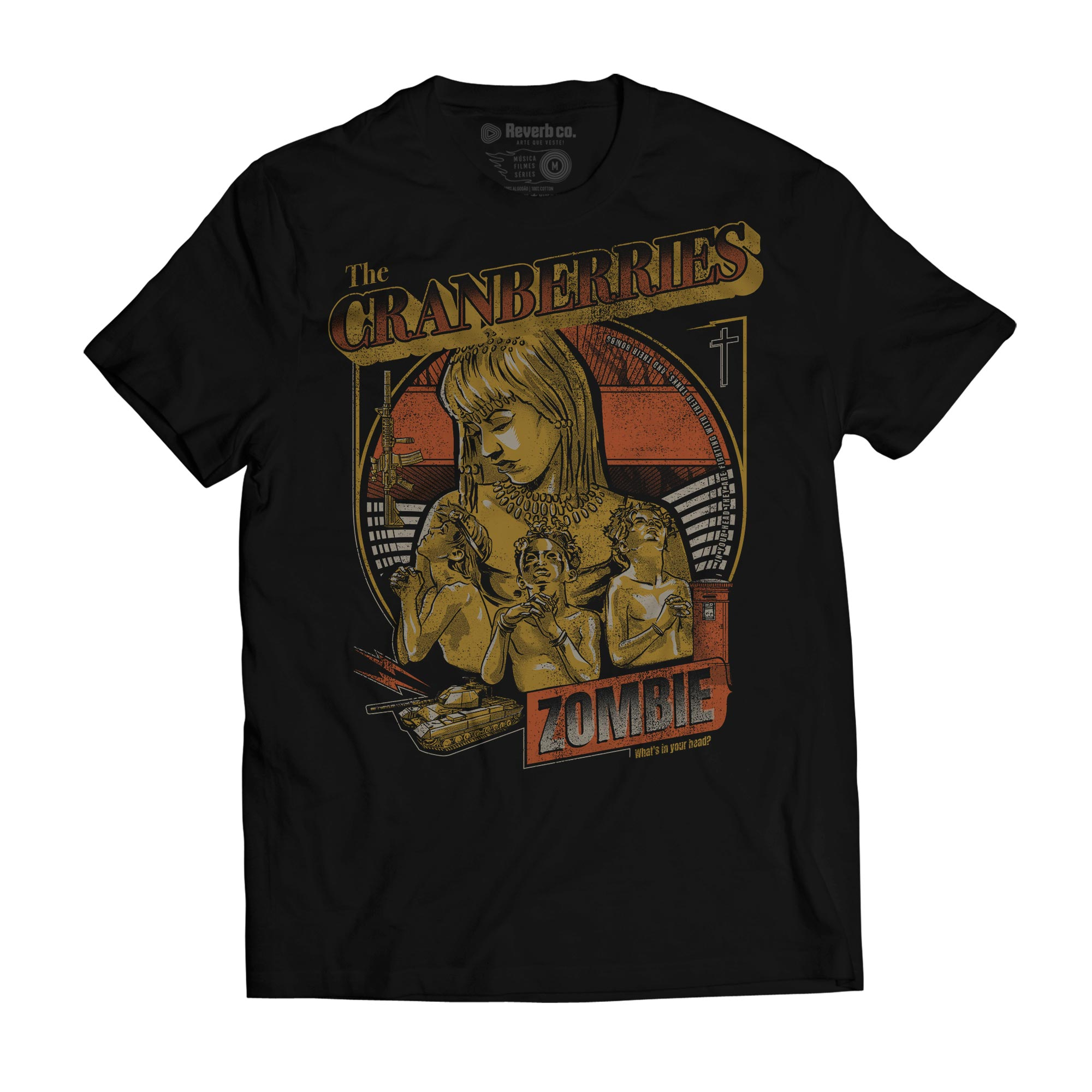 Camiseta Zombie - The Cranberries - Masculino