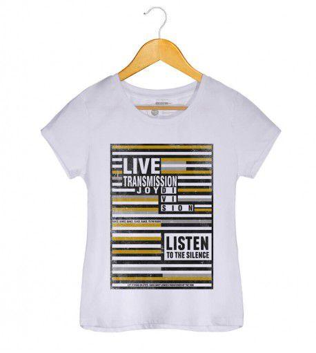 Camiseta - Transmission - Joy Division - Feminino