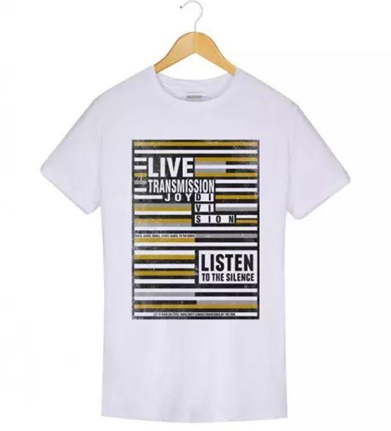 Camiseta - Joy Division - Transmission - Masculino