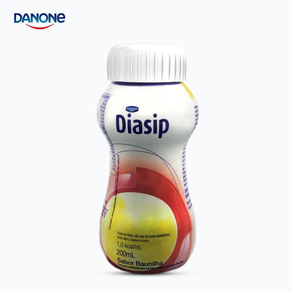Diasip 200ml - Sabor Baunilha - Danone