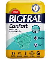 FRALDA GERIAT GRANDE CONFORT C/8F BIGFRAL