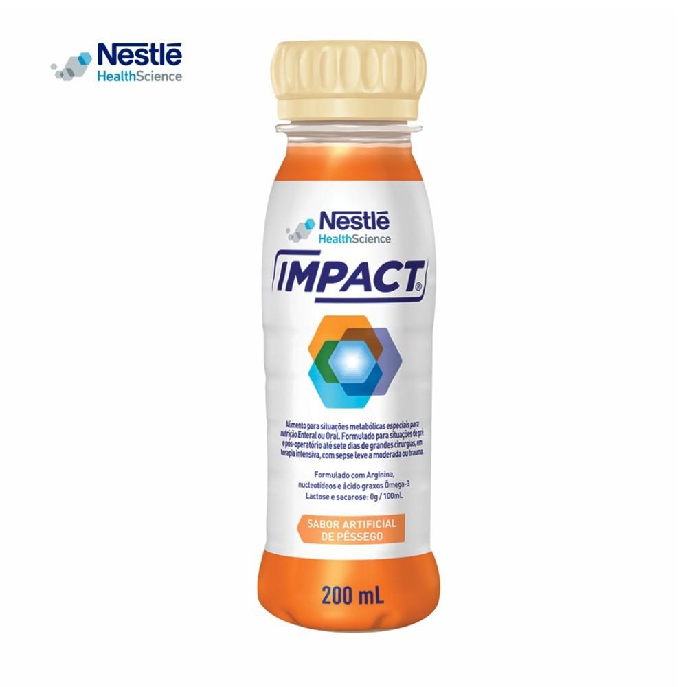 Impact 200ml - Sabor Pêssego - Nestlé