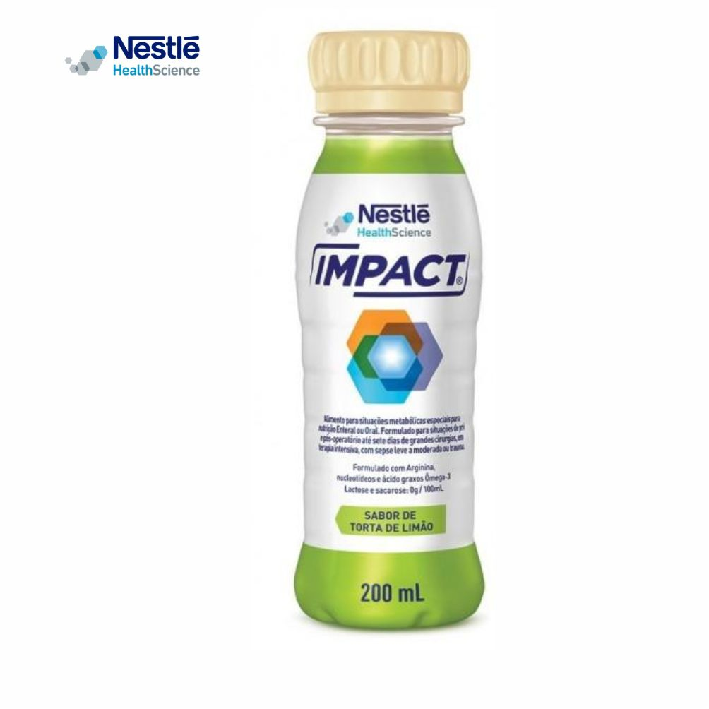 Impact 200ml - Sabor Torta de Limão - Nestlé  -
