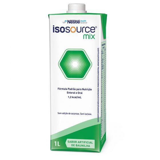 Isosource Mix 1 litro - Sabor Baunilha - Nestlé