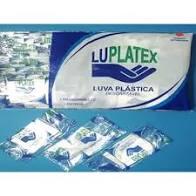 LUVA TOQUE (EST) C/100 UN (EMB. TRANSPARENTE) LUPLATEX