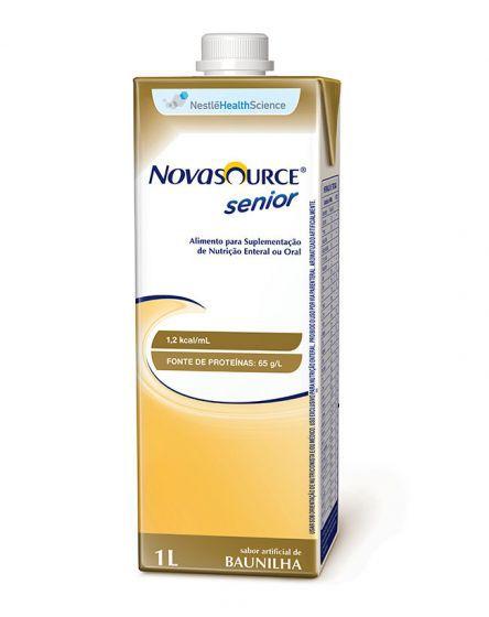 Novasource Senior 1 litro - Sabor Baunilha - Nestlé