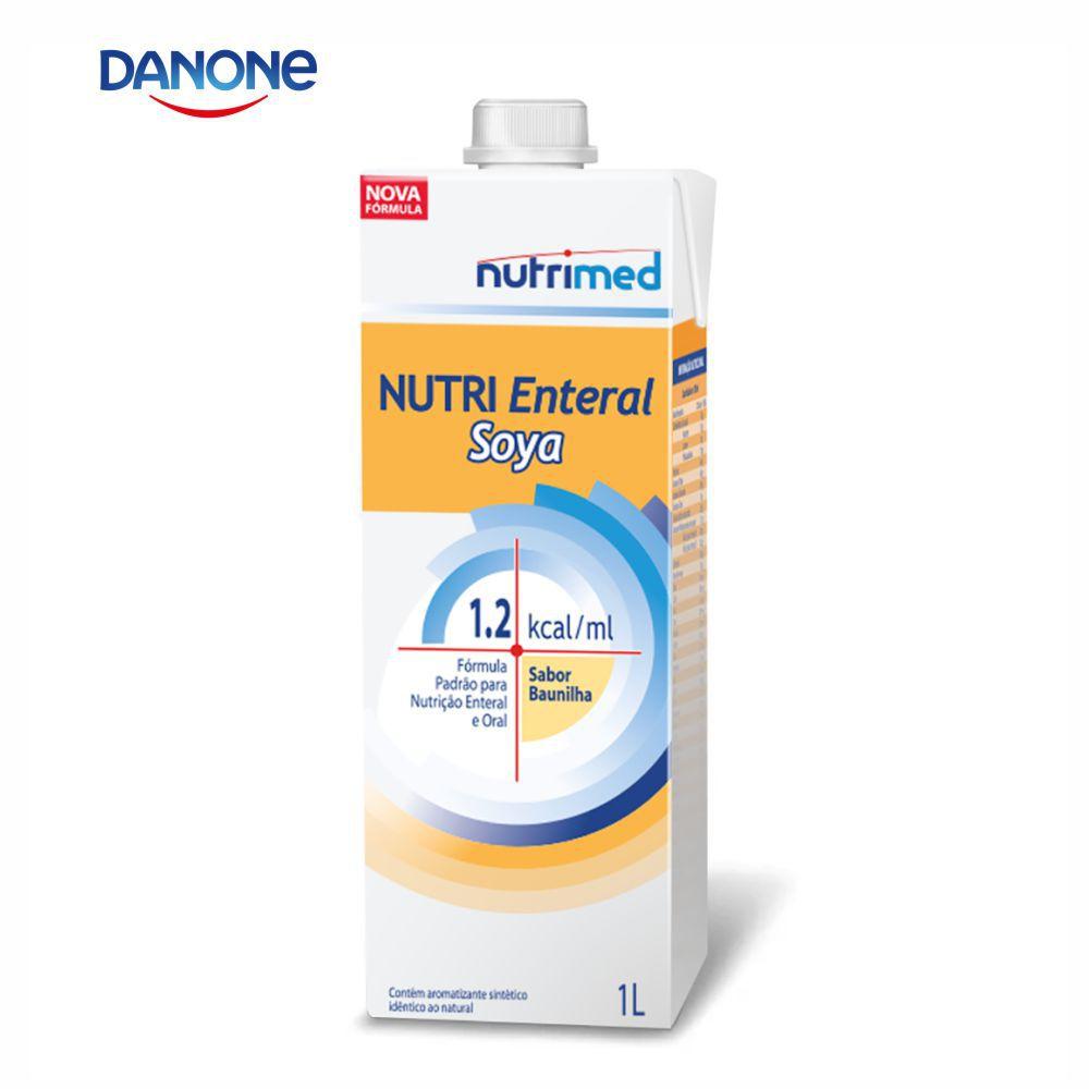 Nutri Enteral Soya 1 litro - Sabor Baunilha - Danone/Nutrimed