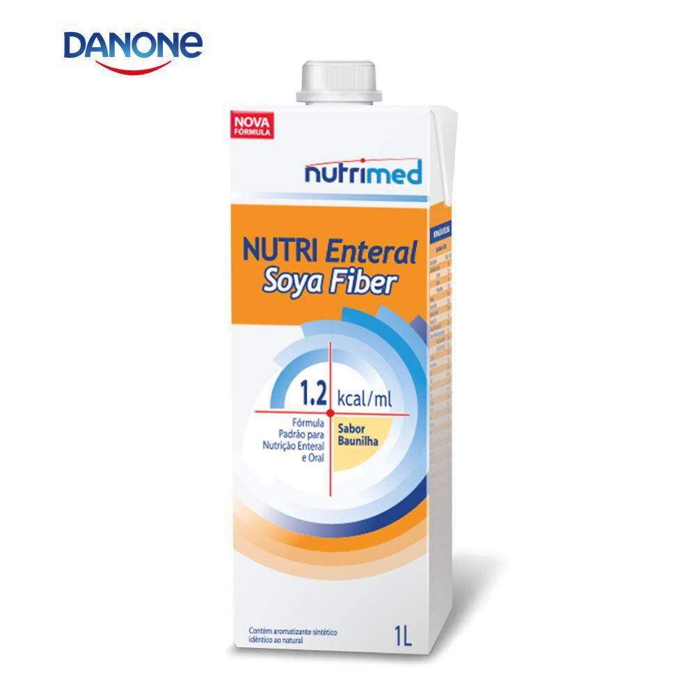 Nutri Enteral Soya Fiber 1 litro - Sabor Baunilha - Danone/Nutrimed