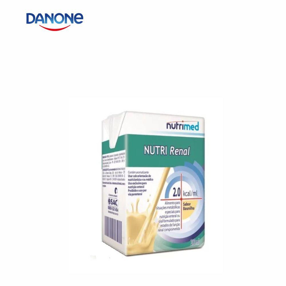 Nutri Renal 200ml - Sabor Baunilha - Danone/Nutrimed