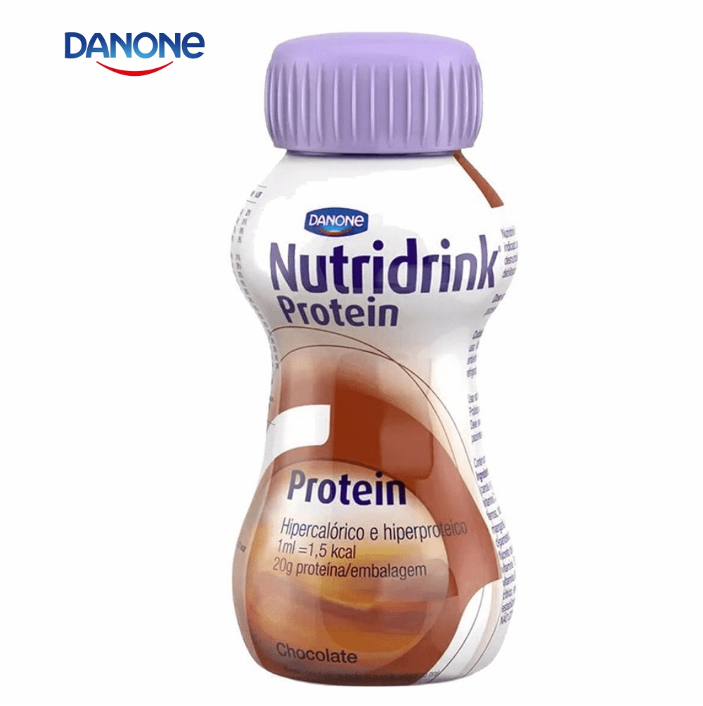 Nutridrink Protein 200ml - Sabor Chocolate - Danone