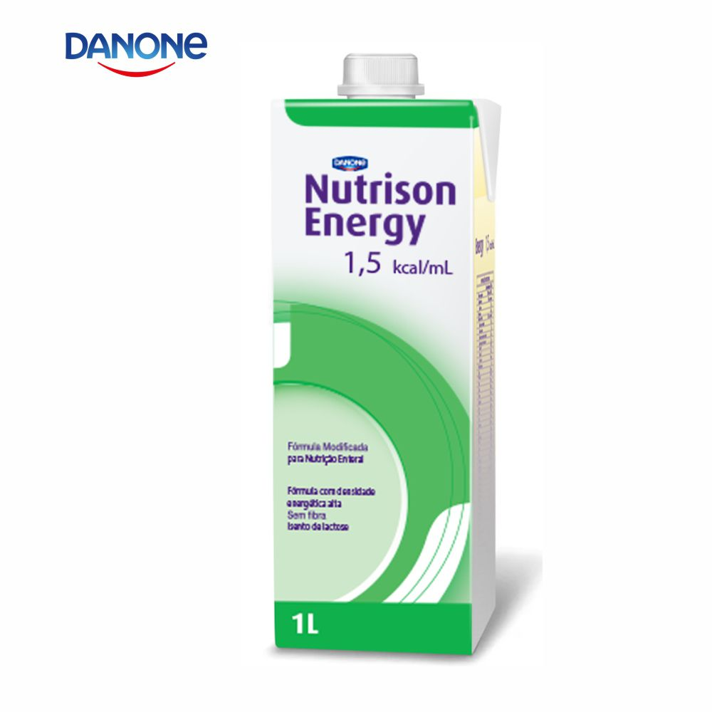 Nutrison Energy 1.5 Cal 1 litro - Sabor Baunilha - Danone