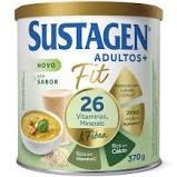 SUSTAGEN ADULTO + FIT SEM SABOR 370G