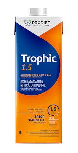 Trophic 1.5 1 litro - Sabor Baunilha - Prodiet -