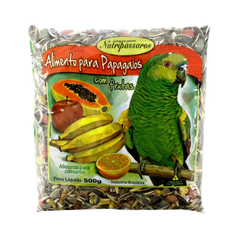 Alimento para Papagaios Nutripássaros com Frutas