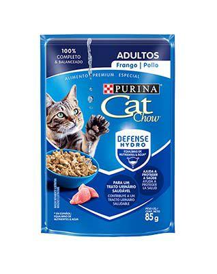 Alimento Úmido Cat Chow Adultos Frango ao Molho