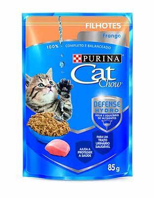 Alimento Úmido Cat Chow Filhotes Frango