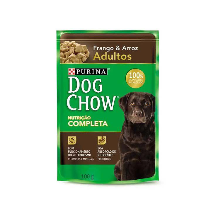 Alimento Úmido Dog Chow Adultos Frango e Arroz