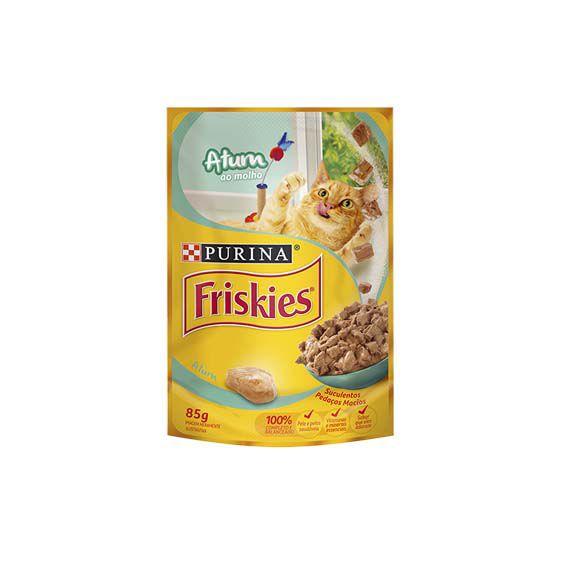 Alimento Úmido Friskies Adultos Atum ao Molho