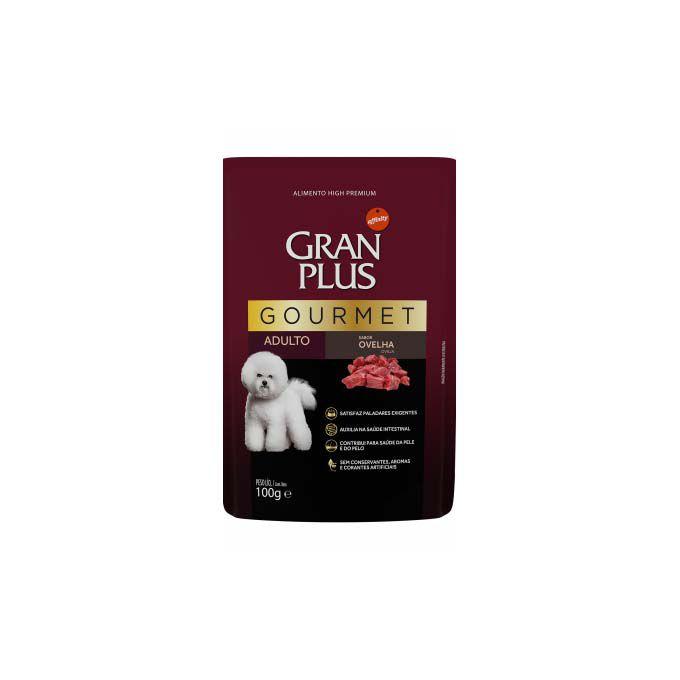 Alimento Úmido Gran Plus Cães Adultos Gourmet Ovelha 100g