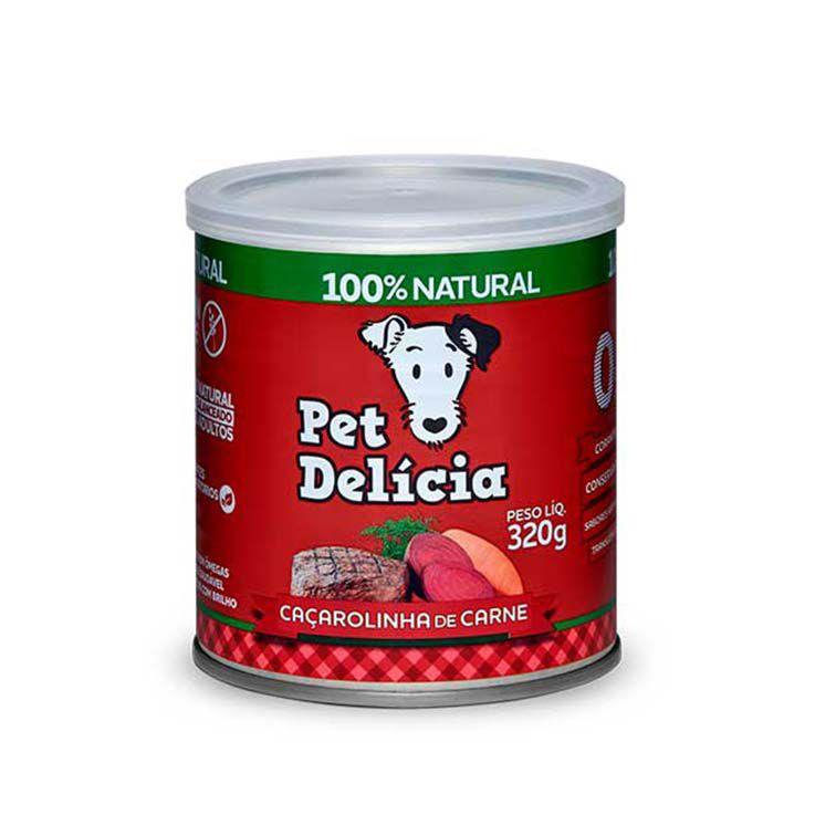Alimento Úmido Pet Delícia Cães Caçarolinha de Carne