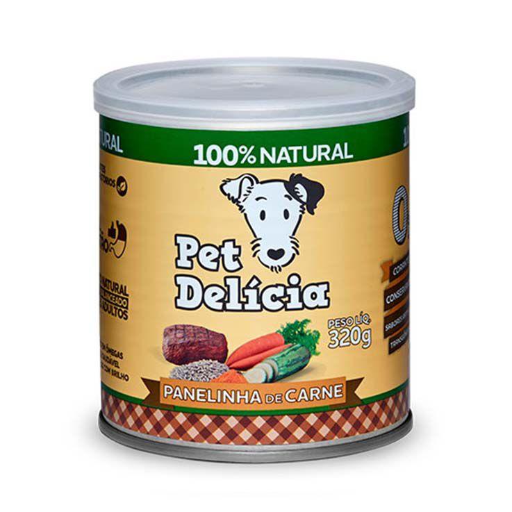 Alimento Úmido Pet Delícia Cães Panelinha de Carne