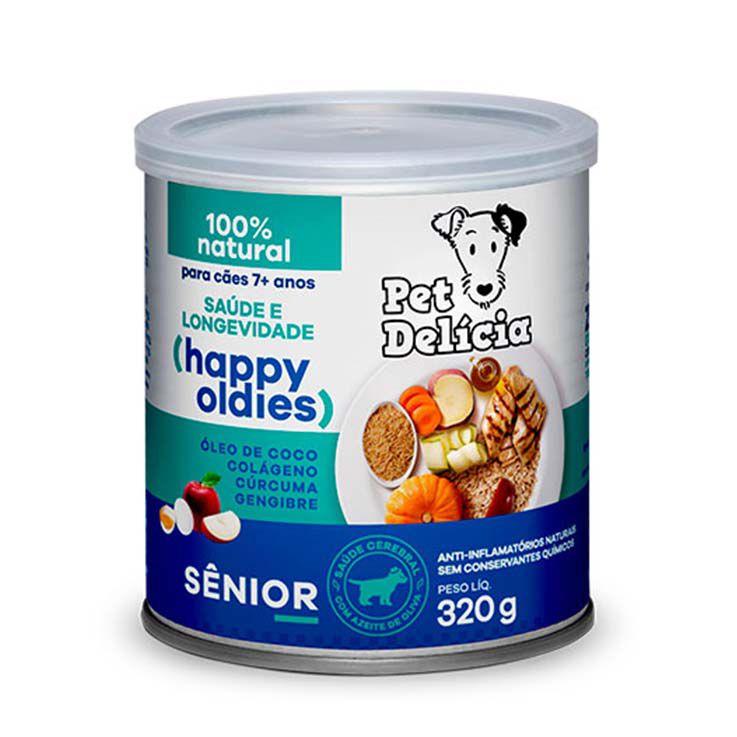 Alimento Úmido Pet Delícia Cães Senior +7