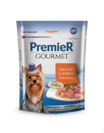 Alimento Úmido Premier Gourmet Cães Salmão e Arroz Integral