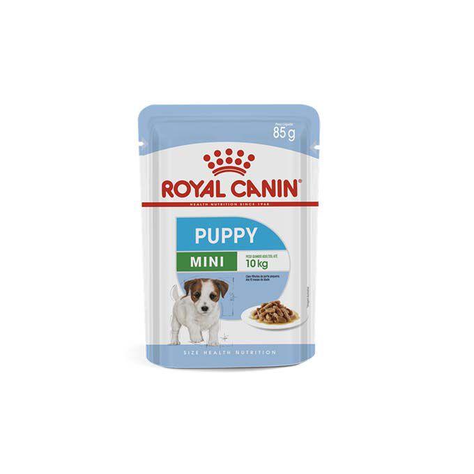 Alimento Úmido Royal Canin Cães Filhotes Mini Puppy