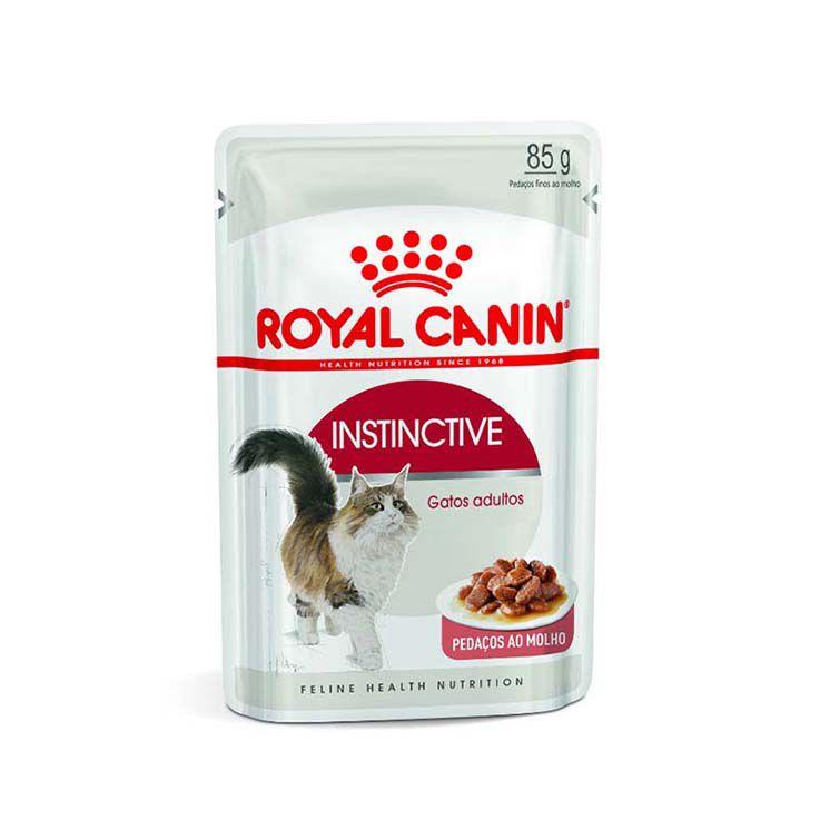 Alimento Úmido Royal Canin Instinctive Gatos Adultos