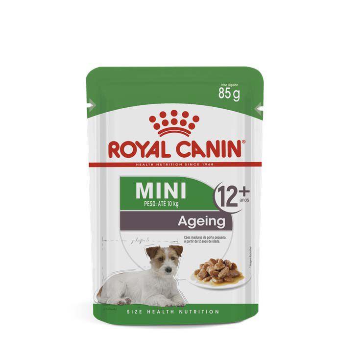 Alimento Úmido Royal Canin Mini Ageing 12+