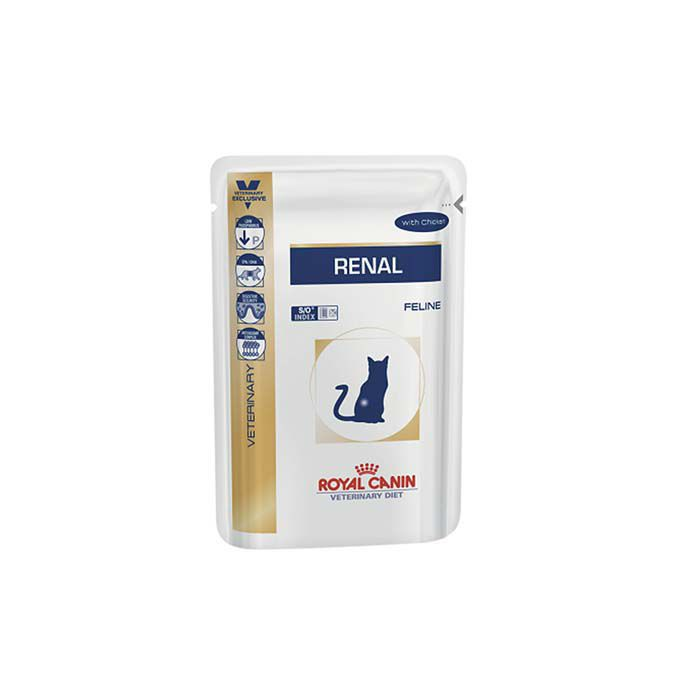 Alimento Úmido Royal Canin Gatos Renal S/O