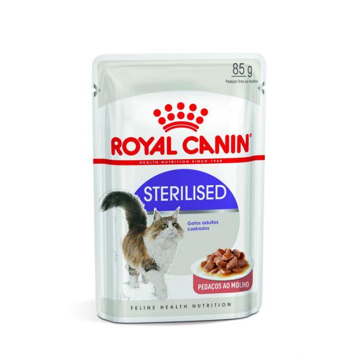Alimento Úmido Royal Canin Sterilised
