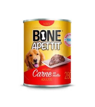 Alimento Úmido Super Premium Bone Apettit Adultos Carne ao Molho - 5un